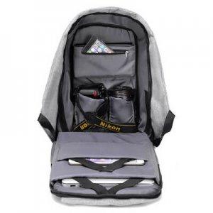 compartimentos mochila antirrobo