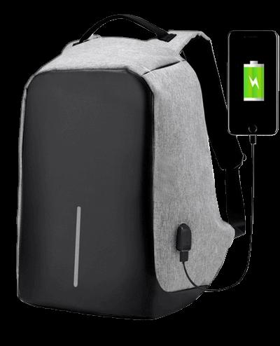 mochila antirrobo inteligente