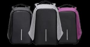 distintos modelos de mochilas anti-robo