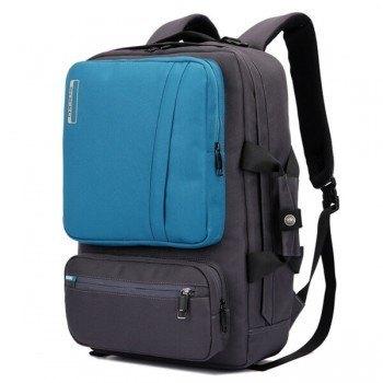 mochila para portátil socko azul